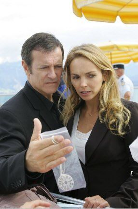Francis Huster & Claire Keim. TF1