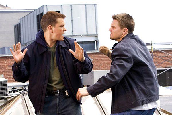 Matt Damon et Leonardo DiCaprio. Warner Bros.
