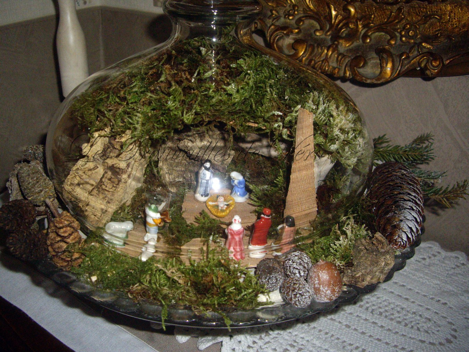 Cr che no l le blog de les trouvailles de vero - Idee decoration creche noel ...
