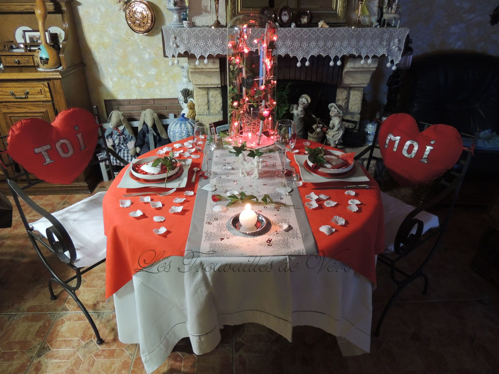 Deco table st valentin design de maison for Deco table st valentin