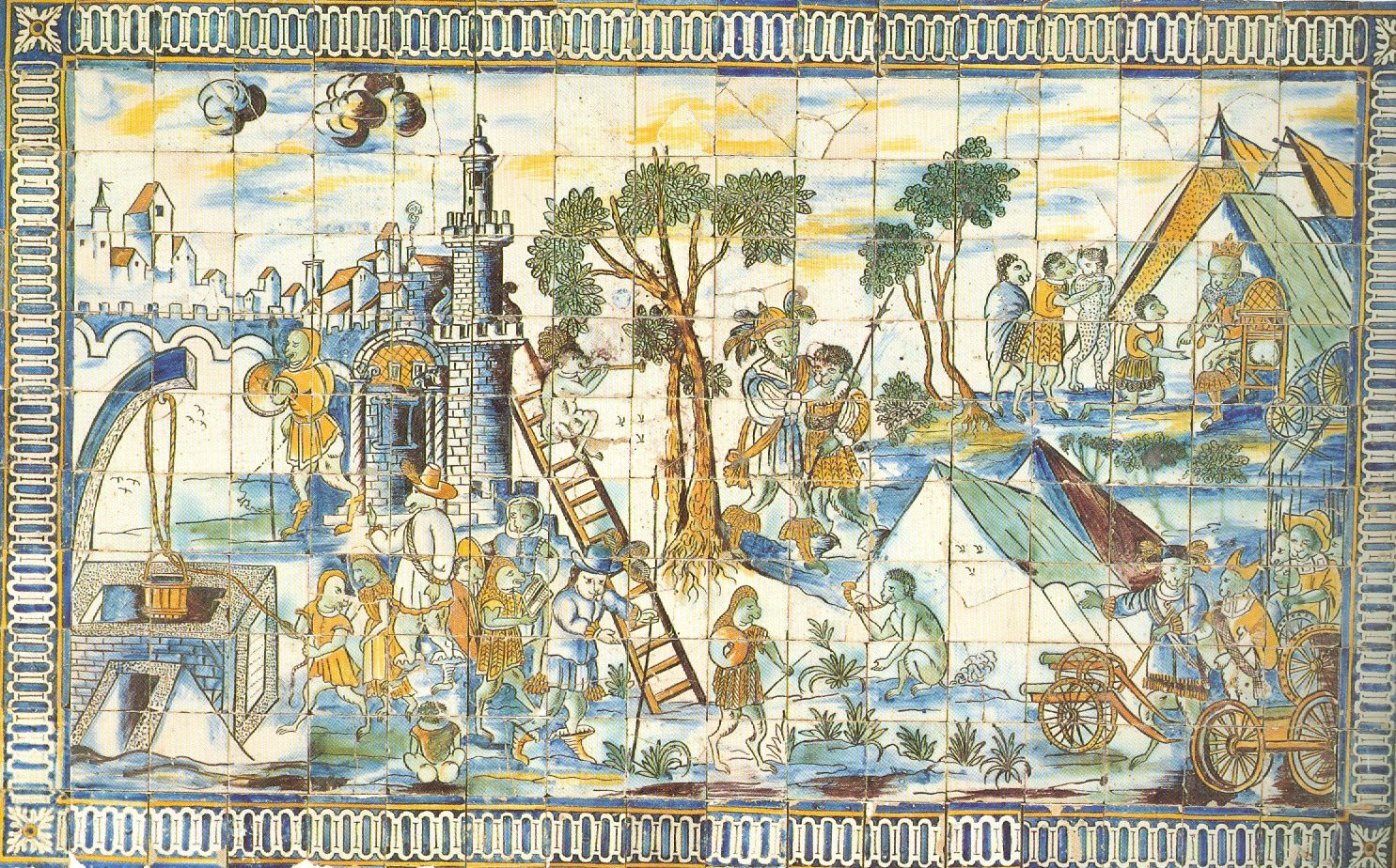 Au pays des azulejos le blog de writings2 for Carrelage fresque
