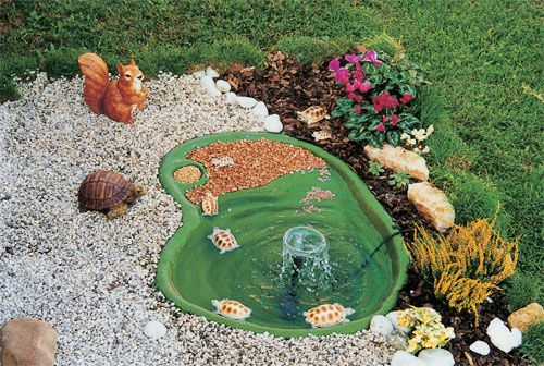 Laghetti artificiali per giardino guadalupa laghetto with for Vasche per tartarughe in plastica