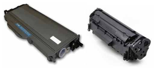 Brother TN360 and HP Q2612A