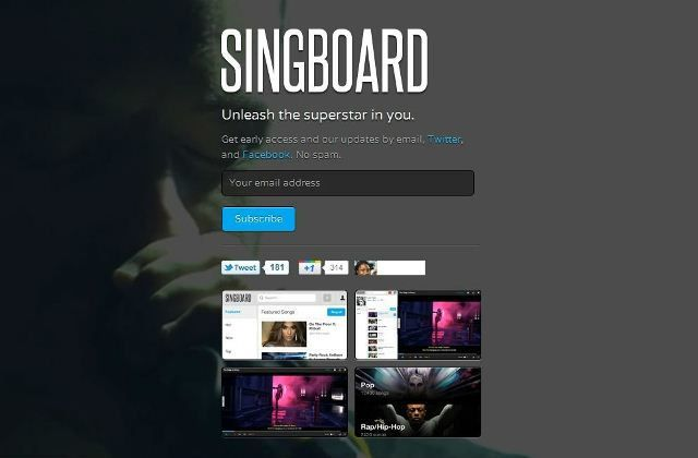 singboard