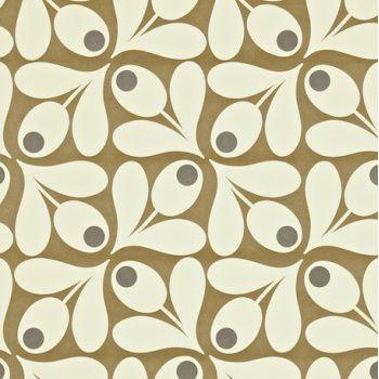 papier-peint-orla-kiely-acorn-spot-marron