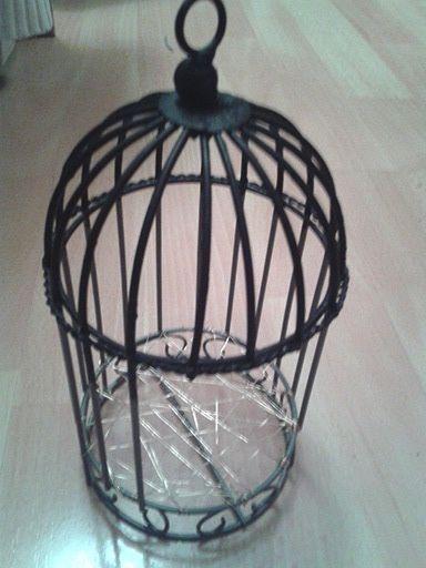 """Fauteuil """"cage à oiseaux""""  pour Puki 2013-02-28-18.7"""
