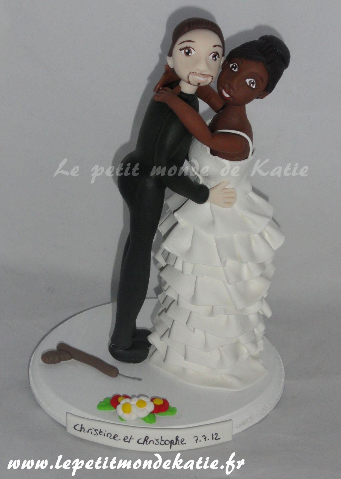 album couples mixtes - Figurine Mariage Mixte
