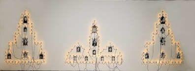 boltanski monument 1985 installation (lumière, photo, am