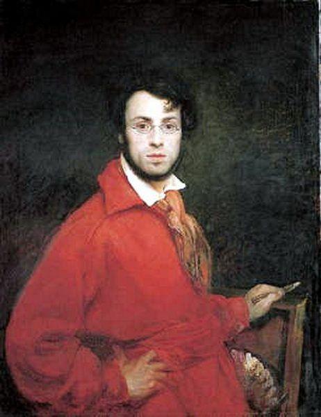 scheffer ary autoportrait, 1830, ht, 118 x 90 cm, Grenobl