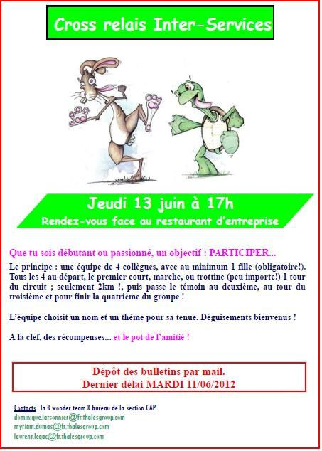 FLYER Cross Relais 2013