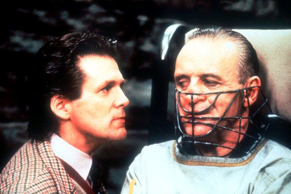 Anthony Heald et Anthony Hopkins. Collection Christophe L.