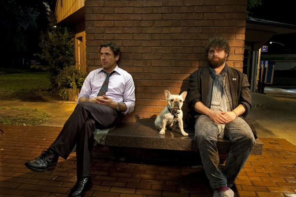 Robert Downey Jr. et Zach Galifianakis. Warner Bros. France
