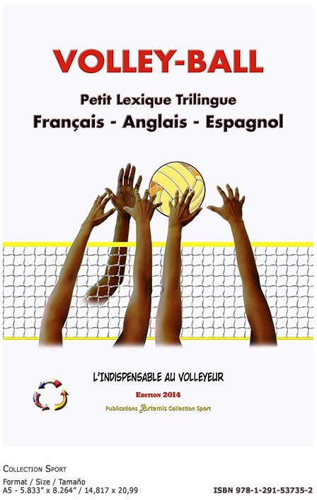 Page VOLLEY-BALL ▪ Petit Lexique Trilingue