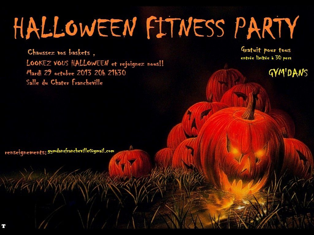 Halloween Fitness Party - Gym Dans - Francheville