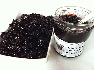 confiture mure