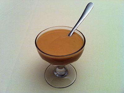 Crème Danette Maison Caramel