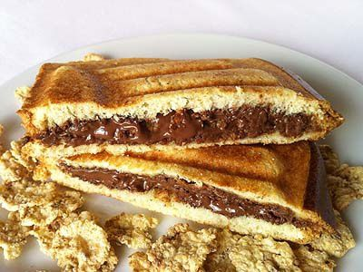 Croque Croustillant Nutella