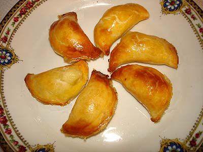 Mini Croissants Feuilletés au Fromage de Chèvre