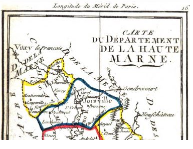 District de Joinville 1790