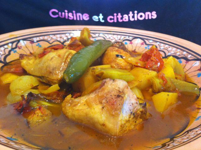 Mon mosli de poulet un plat tunisien haut en couleurs - Blog de cuisine tunisienne ...