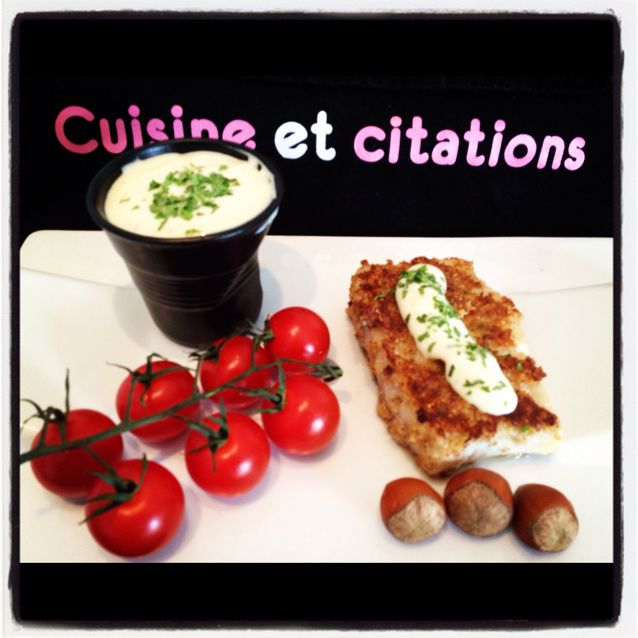 Mes filets de colin aux noisettes et sauce cr meuse au for Art et cuisine casseroles