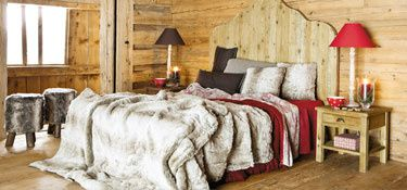d co int rieure pour une ambiance chalet fan de d co. Black Bedroom Furniture Sets. Home Design Ideas