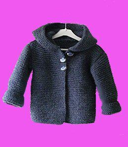 modele tricot paletot