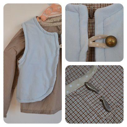 chemise et gilet france duval stella3