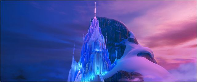 La reine des neiges le nouveau grand film de disney for Le chateau de la reine des neiges