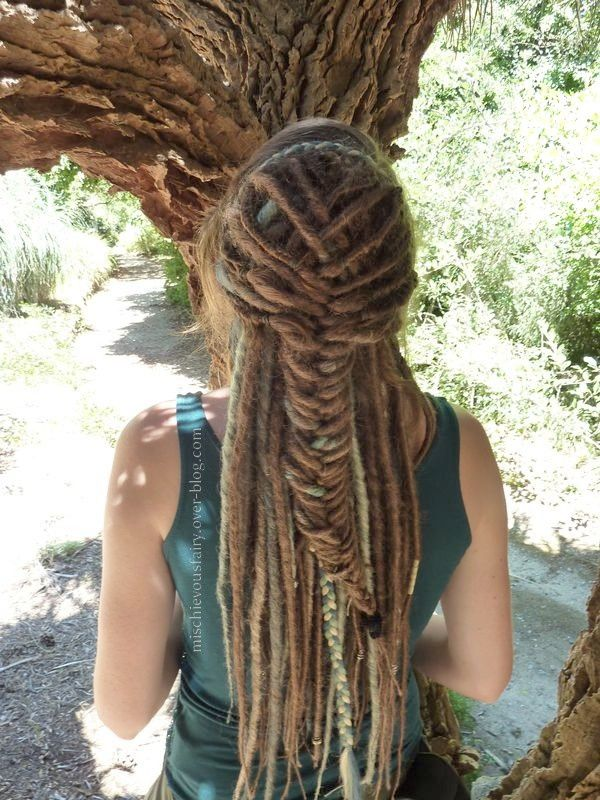 dreads,synthetiques,blond,turquoise,platine,sirene,II5