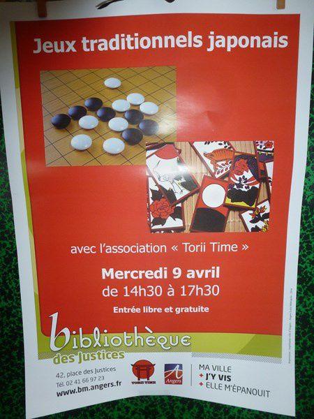 Jeux traditionnels japonais à la Bliothèque des Justices le 9/04/2014