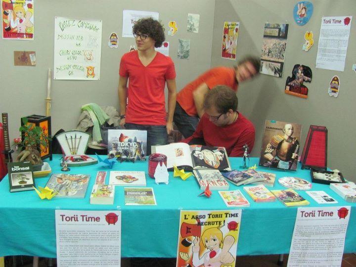Découvrez les photos de la participation de l'association Torii Time au forum AGORA