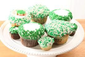 a st patrick cupcakes