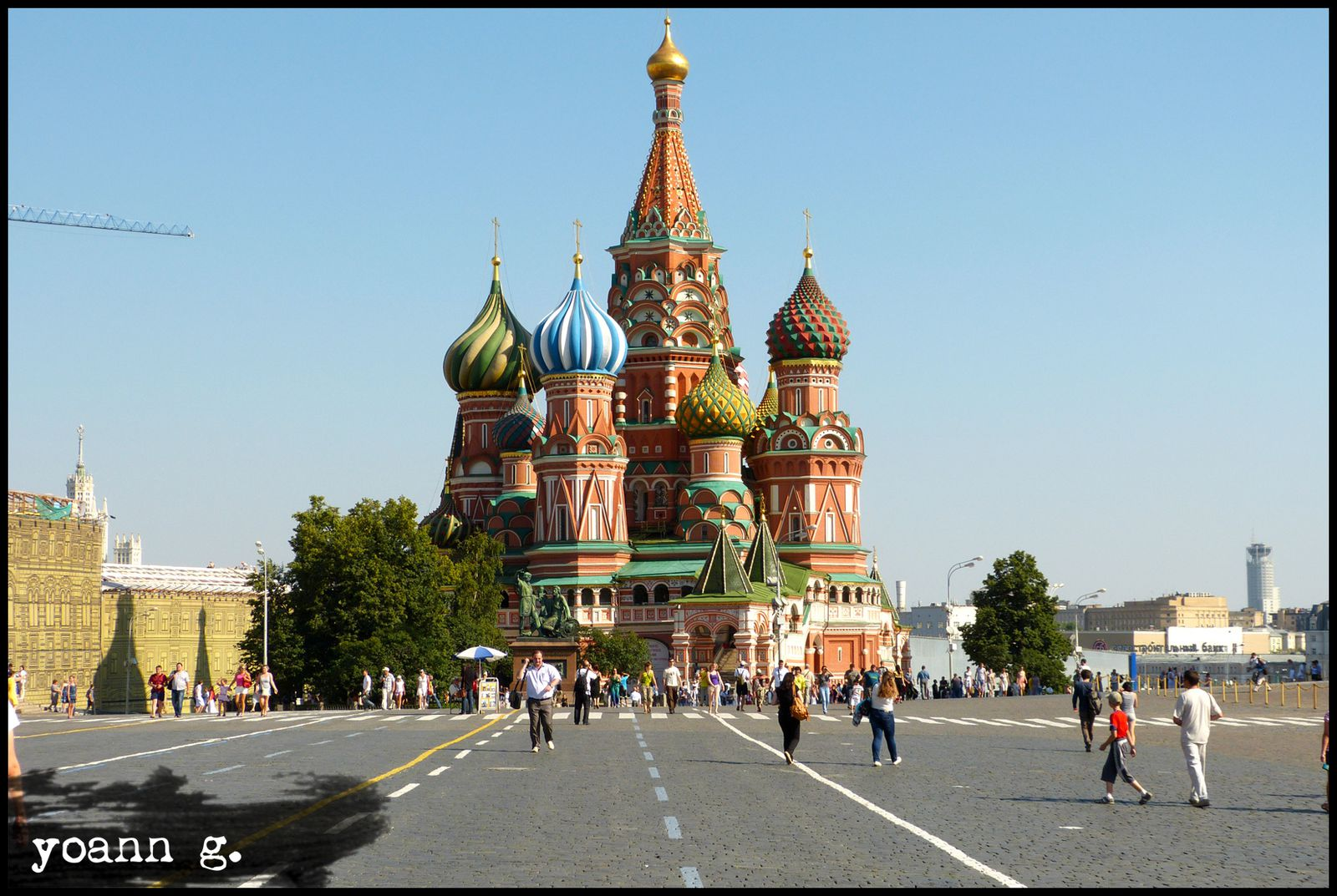 Moscou russie le blog de thedailywanderer for Architecture russe