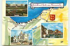 innombrables cartes, elles véhicule l'image de la Normandie. celle-ci évolue au cours du temps... Les Léopards sont toujours là !