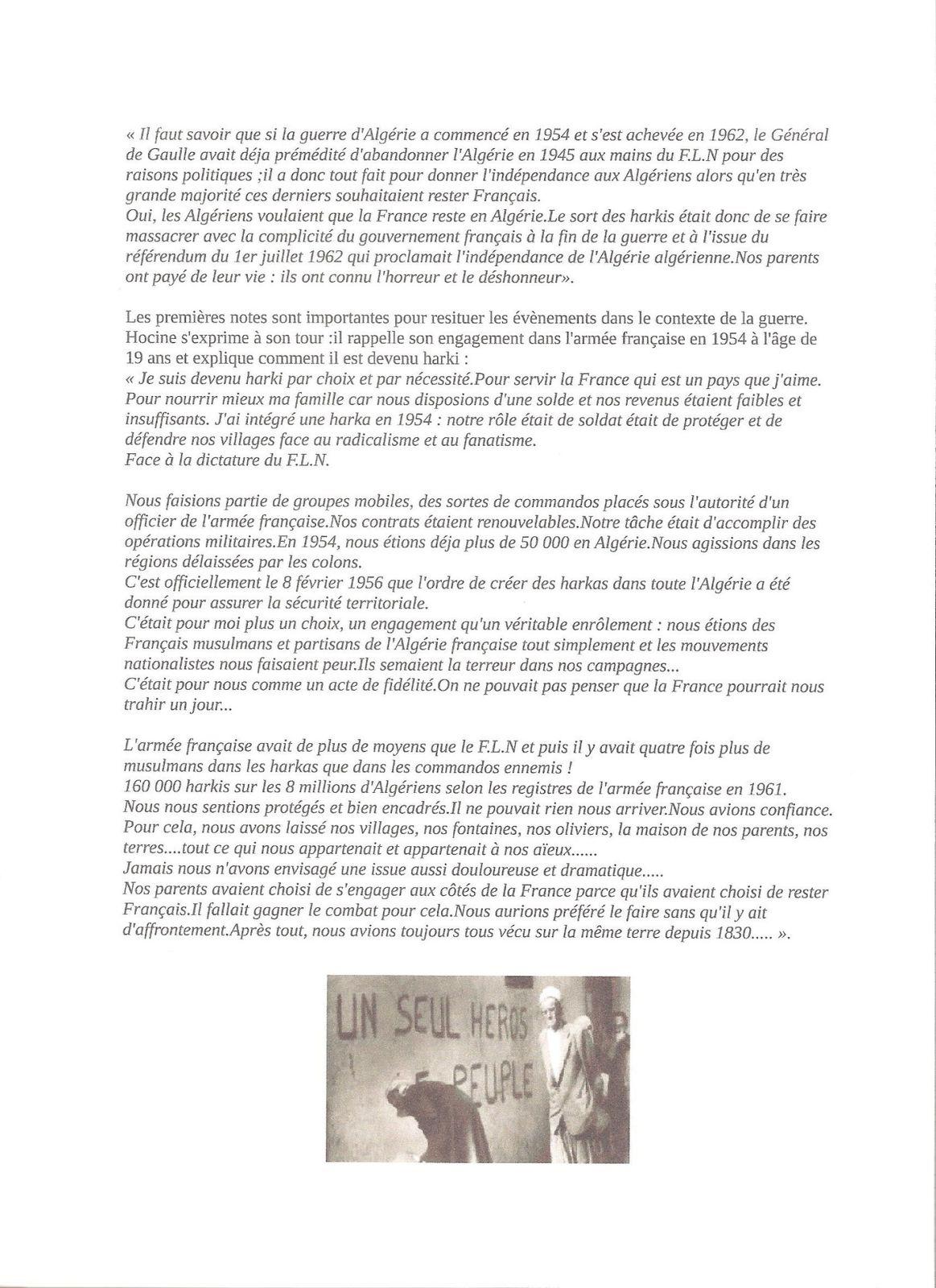 Album - Cœurs de Harkis
