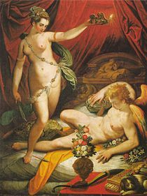 210px-Jacopo Zucchi - Amor and Psyche