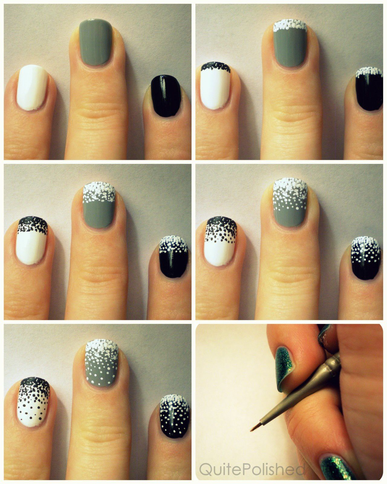 Nail art tutorial - dotter - All Tube and MakeUp
