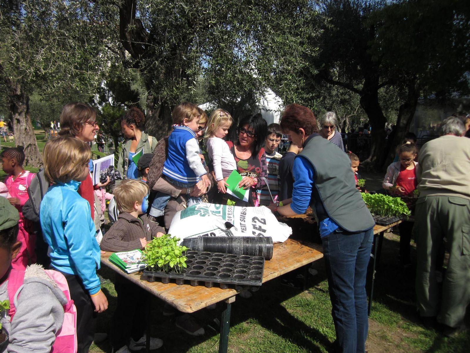 Manifestations - Participation de la Direction Adjointe des Espaces Verts de la Ville de Nice