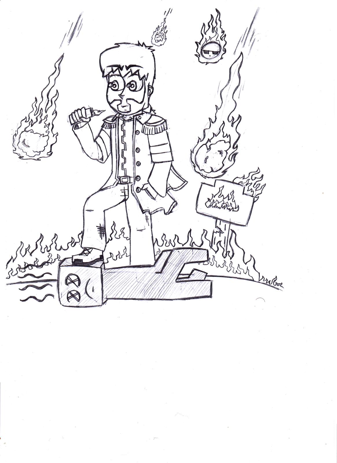 minecraft coloring pages of dantdm - photo#31
