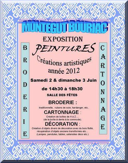 expo affiche 2012 MONTOUSSIN