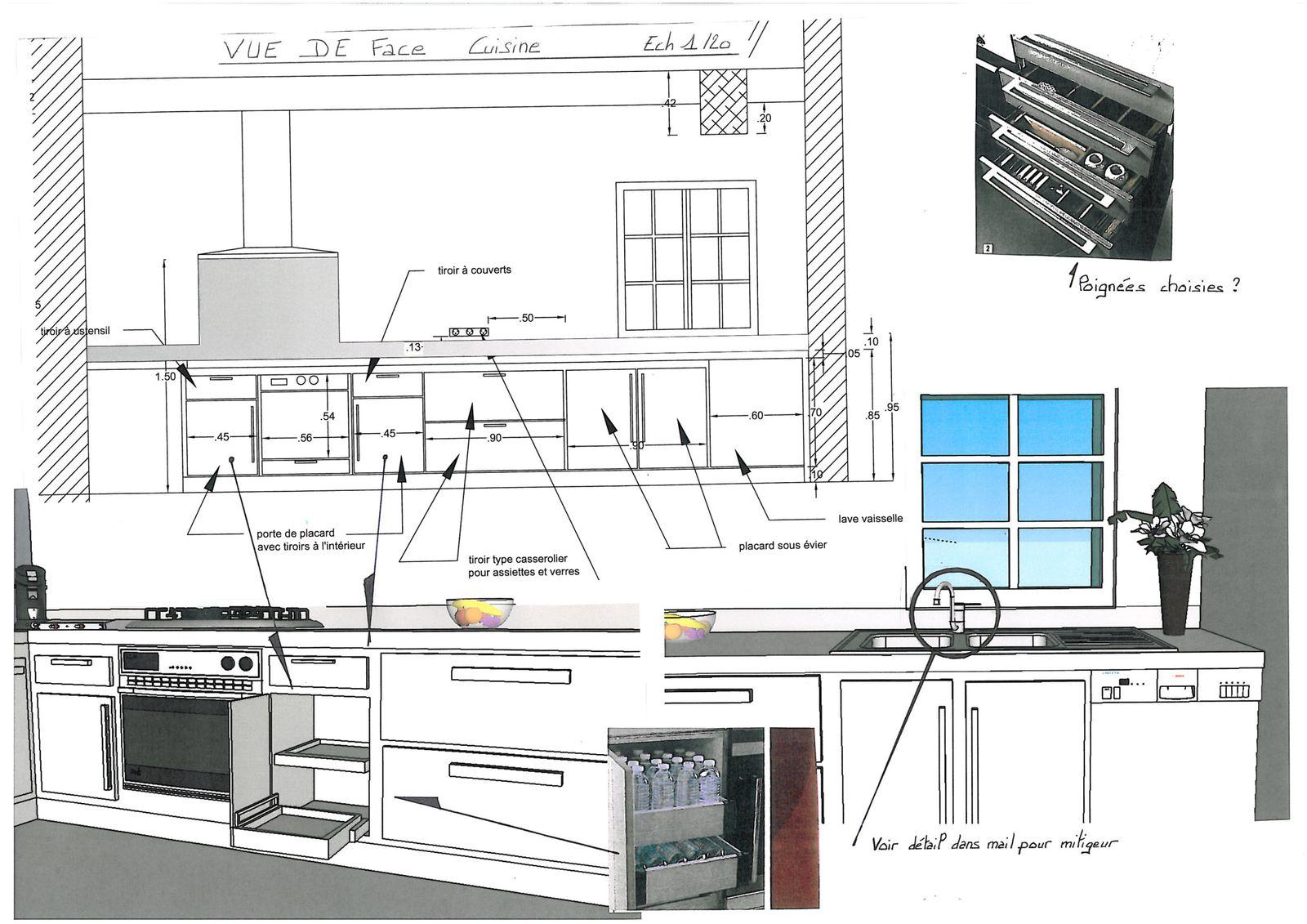 Avant projet cuisine adm atelier d coration mestadier - Projet atelier cuisine ...