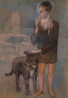 pablo-picasso-garcon-avec-chien.jpg