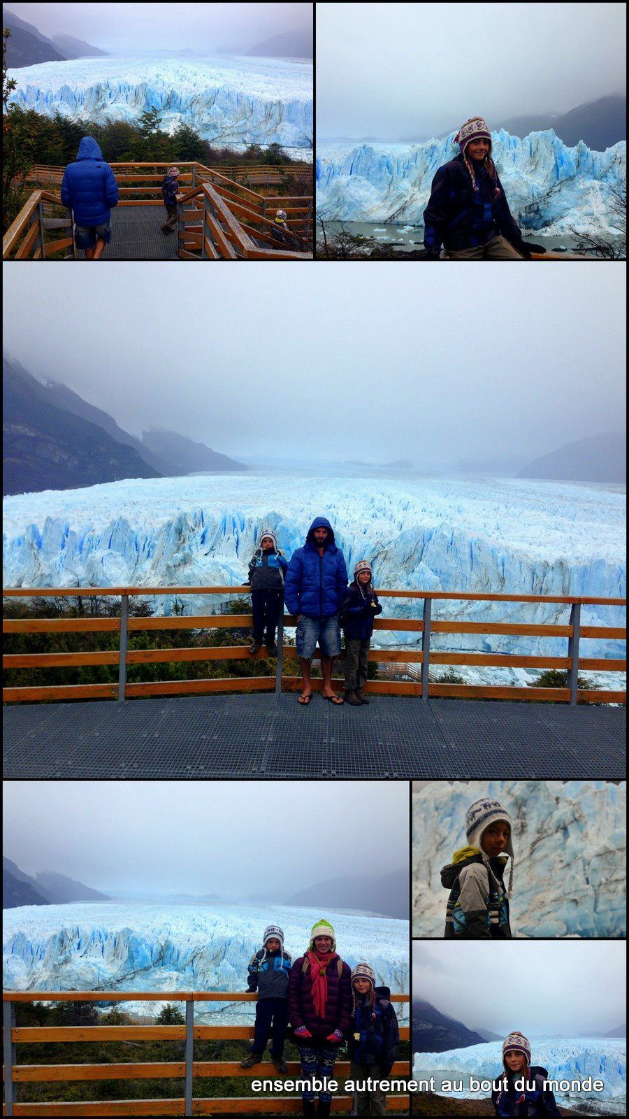 Parking A Car At The Perito Moreno Glacier