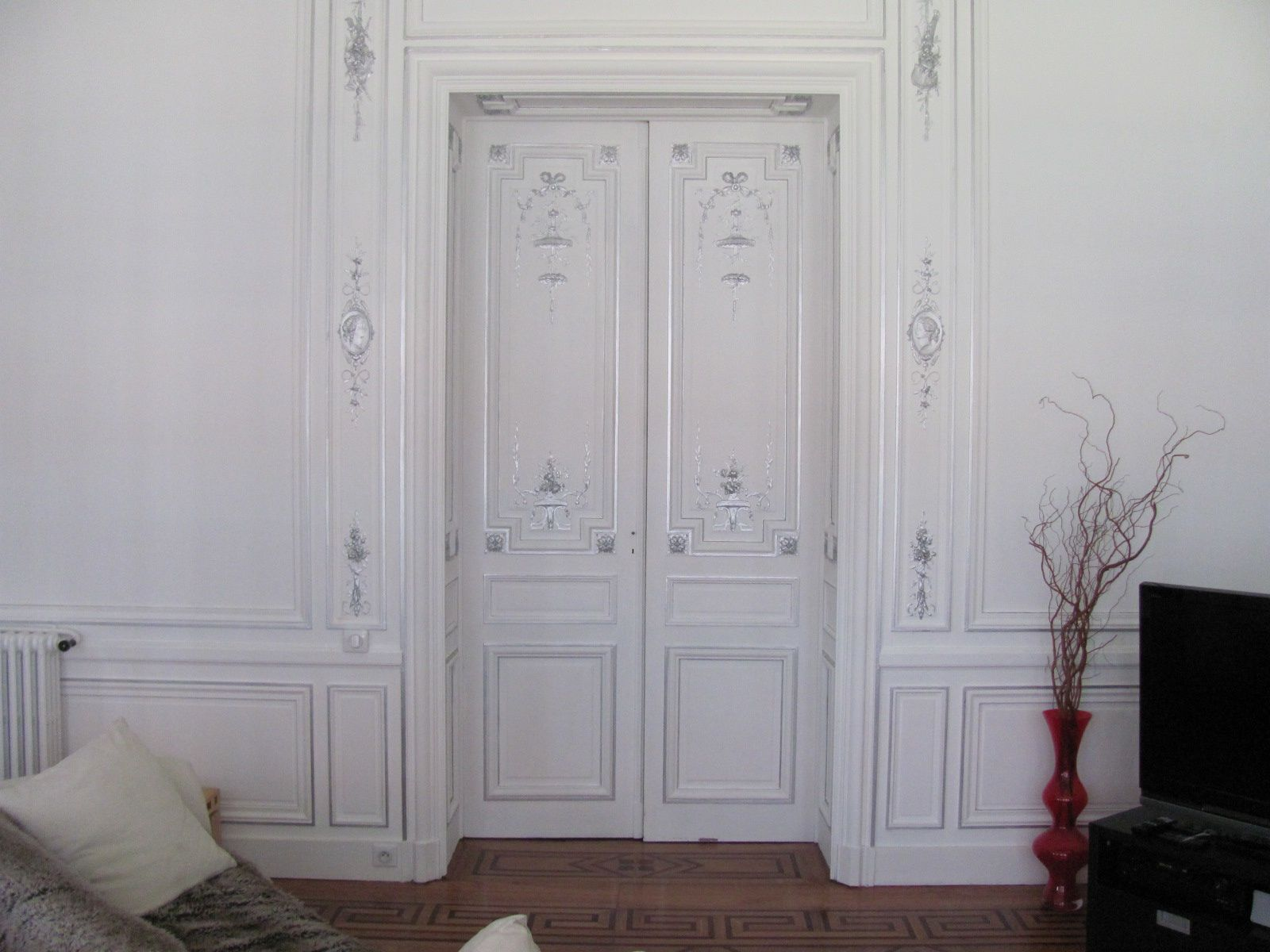 Moulures de portes decoration 13 decoration de porte - Decoration de porte interieur ...