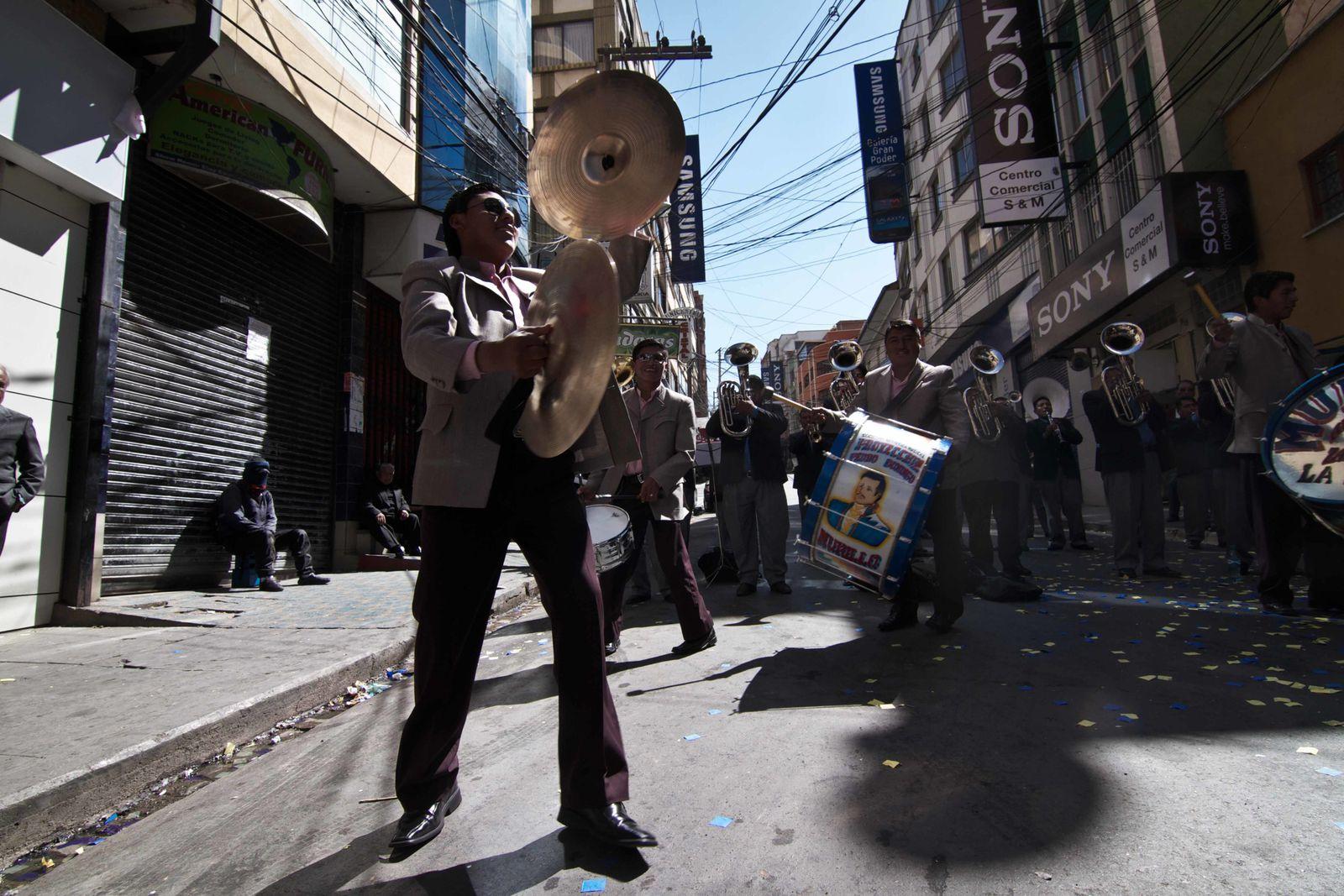 2012: BOLIVIE   La-Paz