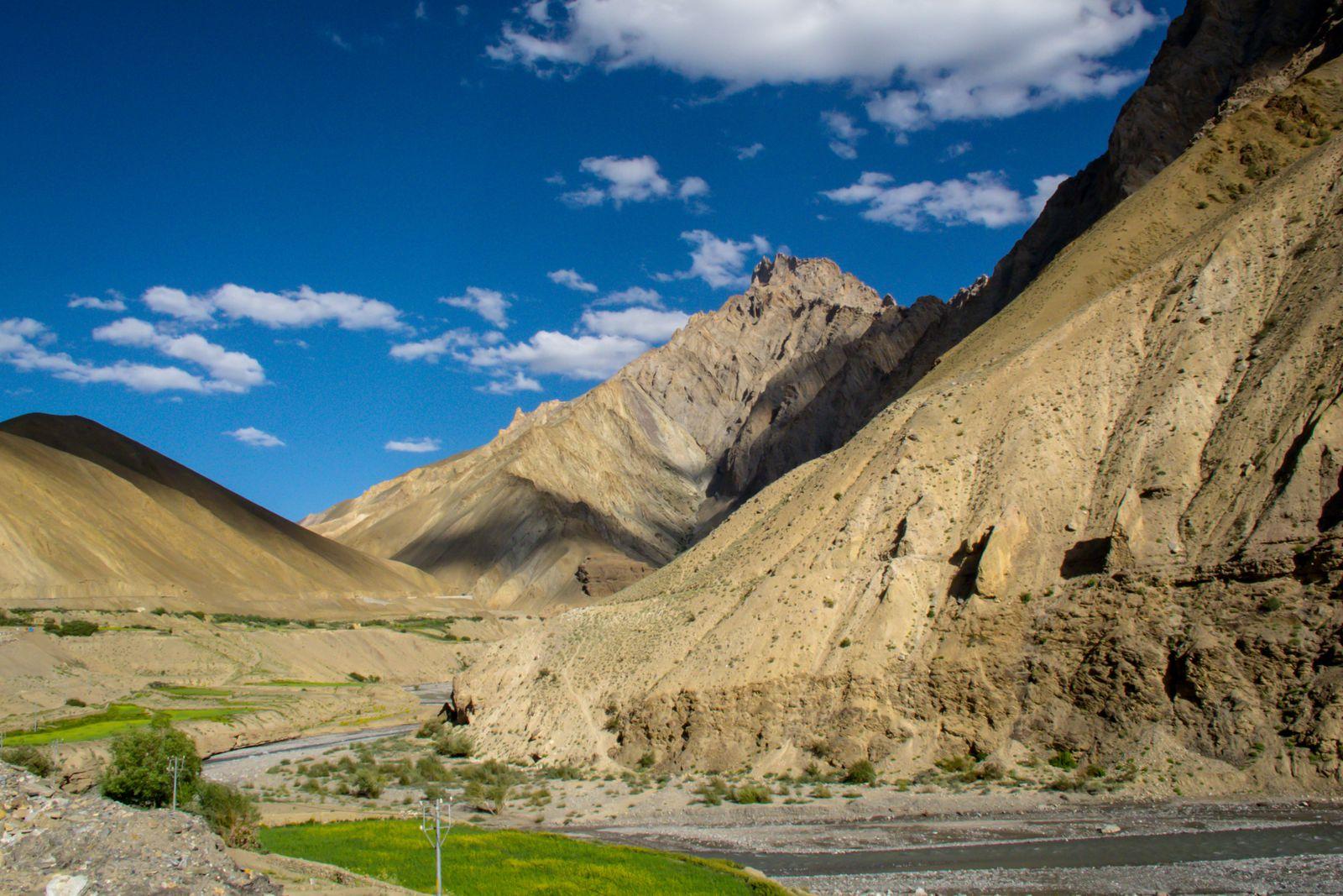 2013: INDE-LADAKH- Vallée de l'Indus en Royal Enfield