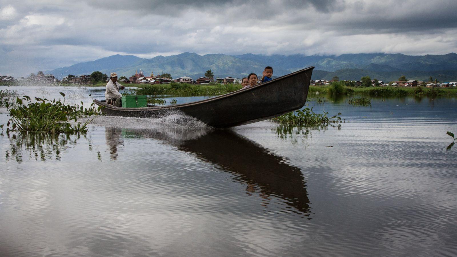 2014: MYANMAR - Lac Inlé