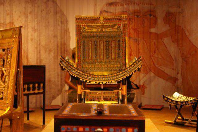 IMGP9225 Expo Paris Porte de Versailles Toutankhamon Chaise