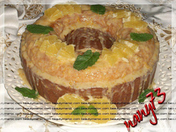 Chef Manal El Alem http://www.nany73.com/article-cake-a-l-orange-sauce-a-l-orange-58769820.html
